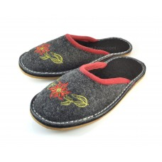 Ladies Embroidered Mule Slippers CAREN