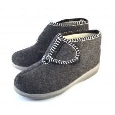 Women's Hook & Loop Felt Booties ATTICUS II
