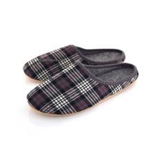 Ladies & Men's Tartan Felt Slippers FINLEY