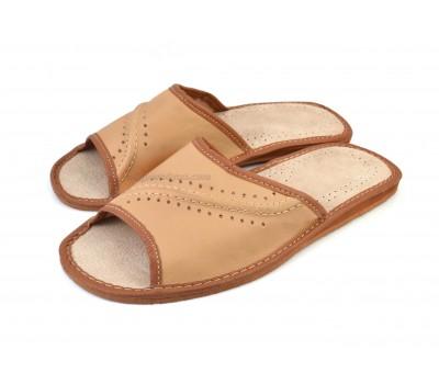 Tan Open Toe Sandals SOLFRID