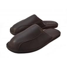 Brown Calfskin Slippers BRANDO