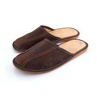 Brown Mule Slippers CALLUM