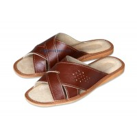 Criss-Cross Slipper Sandals FIGARO