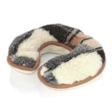 Sheep's Wool Neck Cushion