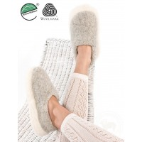 Men's / Women's Merino Wool Slippers POLAR