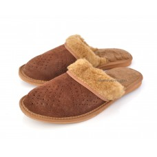 Suede & Fur Ladies Mules ASTA