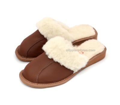 Winter Wedge Mule Slippers NOELLE II