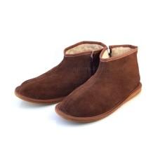 Unisex Sheepskin/Sheep's Wool Zipped Boots SNOWDON