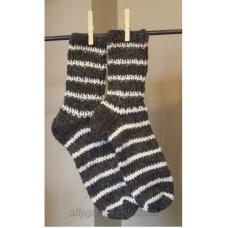 Unisex Men's-Women's Sheep's Wool Socks