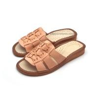 Summer Leather Slipper-Sandals SANTORINI