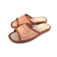 Ladies Leather Slippers AZALEA