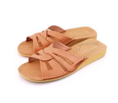 Summer Leather Slipper-Sandals DORA