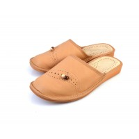 Closed Toe Leather BERRY I Slippers