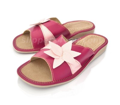 Peep Toe Bloom Slippers