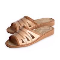 Ladies Leather Slippers ESME