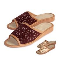 Women's Leather Slippers IRIS