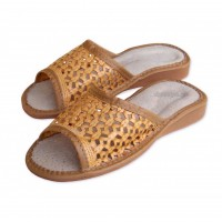 Open Toe Leather SUMMER Slippers