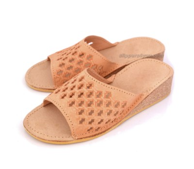 Open Toe Wedge Slippers NEBRASKA
