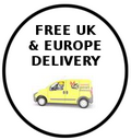 Free UK & Europe Delivery